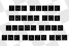 squares typeface