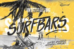 Surfbars Font Product Image 1