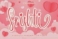 Web Font Srishti - A Beauty Handwritten Font Product Image 1