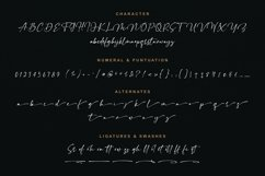 Chelliond   Chic Calligraphy Script Product Image 2