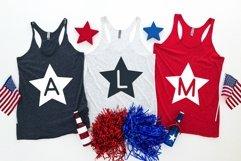 Web Font Star - A Fun Patriotic Font Product Image 2