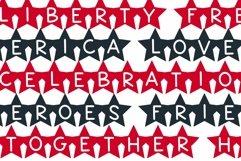 Web Font Star - A Fun Patriotic Font Product Image 6