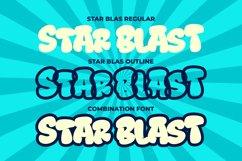 Star Blast a Playful Cartoon Font Product Image 6