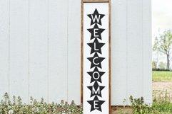 Star - A Fun Patriotic Font Product Image 3