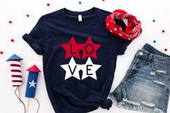 Star - A Fun Patriotic Font Product Image 4