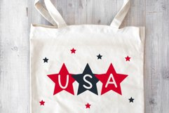 Star - A Fun Patriotic Font Product Image 6