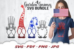 4th Of July Gnome SVG Cut Files Bundle Product Image 1
