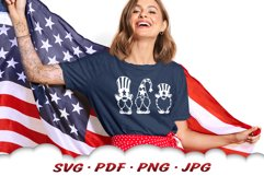 4th Of July Gnome SVG Cut Files Bundle Product Image 4