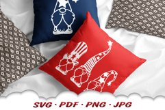 4th Of July Gnome SVG Cut Files Bundle Product Image 6