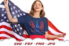 4th Of July Gnome SVG Cut Files Bundle Product Image 5