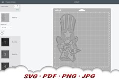 4th Of July Gnome SVG Cut Files Bundle Product Image 2