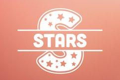 Stars Split Monogram