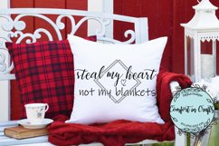 Steal My Heart Not My Blankets SVG Product Image 1