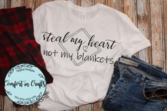 Steal My Heart Not My Blankets SVG Product Image 3
