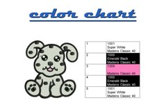 Baby Dalmatian machine embroidery designs Product Image 2