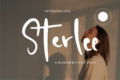 Sterlee - A Handwritten Font Product Image 1