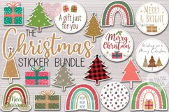 Christmas Sticker Bundle, Gift Tag & Packaging Stickers Product Image 1