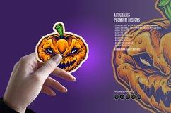 Halloween Skull Monster Carved Mascot Product Image 5