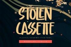Stolen Cassette - Playful Display Font Product Image 1