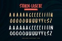 Stolen Cassette - Playful Display Font Product Image 4