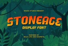 Stoneage | Display Font Product Image 1