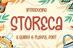 Storeca a Quirky & Playful Font Product Image 1