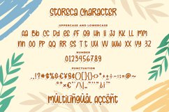 Storeca a Quirky & Playful Font Product Image 6