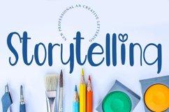 Storytelling - A Mondern Handwritten Font Product Image 1