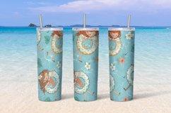 Beach girls tumbler sublimation design 20 oz skinny Product Image 6