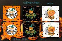 Happy Halloween tumbler sublimation Product Image 2