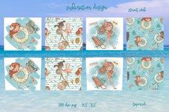 Beach girls tumbler sublimation design 20 oz skinny Product Image 2