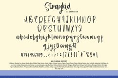 Straykid - Cute Display Font Product Image 4