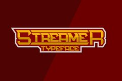 Streamer - a Sporty Typeface Product Image 1