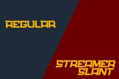 Streamer - a Sporty Typeface Product Image 2