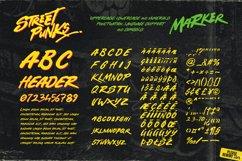 Street Punks: Graffiti Pen and Brush Font Product Image 2