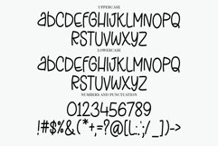 Stretchy Jeans - a skinny tall quirky handwritten font Product Image 4