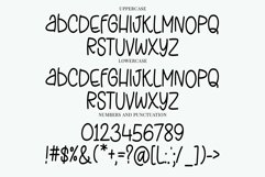 Web Font Stretchy Jeans - a skinny tall quirky handwritten f Product Image 4
