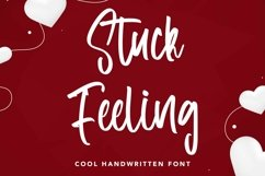 Web Font Stuck Feeling - Cool Handwritten Font Product Image 1
