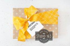 Square Tag Mockup | Gift Tag Mockup | PSD Smart Object Product Image 1