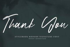 Stylebook - Modern Signature Font Product Image 2