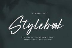 Stylebook - Modern Signature Font Product Image 1