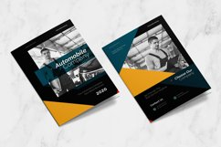 Auto Mobile Industry Bifold Brochure Product Image 2