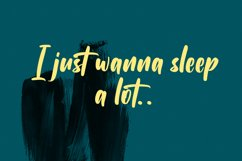 Subcultures Handwritten Display Font Product Image 3