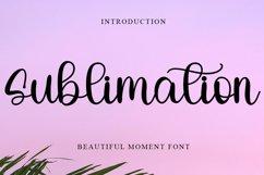Sublimation   Beautiful Moment Font Product Image 1