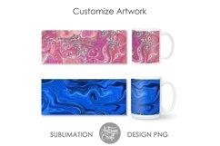 11 oz mug template, 15 oz mug template Product Image 6