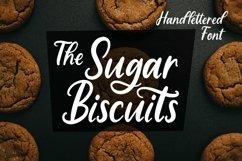 Web Font Sugar Biscuits - Handlettered Font Product Image 1