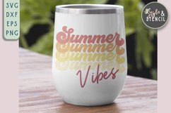 summber vibes svg for tumbler