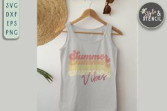 summber vibes svg for tank top