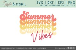 summber vibes png cut file