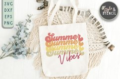summber vibes svg for tote bag